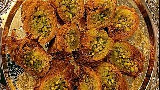 Download البورمه بعجينة الكنافه Baklava Burma using Konafa Dough ..........Linda S kitchen مطبخ ليندا Video