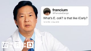 Download Ken Jeong Answers More Medical Questions From Twitter | Tech Support | WIRED Video