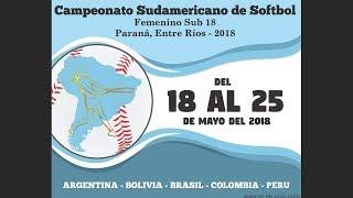 Download Peru v Colombia - Semi-Final - U-18 Women's South American Softball Championship 2018 Video