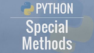 Download Python OOP Tutorial 5: Special (Magic/Dunder) Methods Video