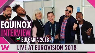 Download Equinox (Bulgaria) Interview @ Eurovision 2018 | wiwibloggs Video