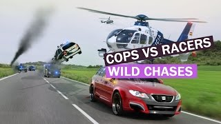 Download CHASES GONE WILD - Best Police CHASES Compilation - Cops VS Street Racers chases 2015 Video