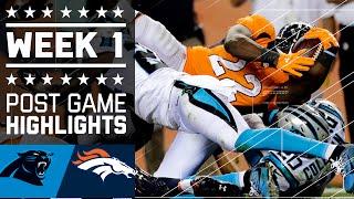Download Panthers vs. Broncos | NFL Week 1 Game Highlights Video