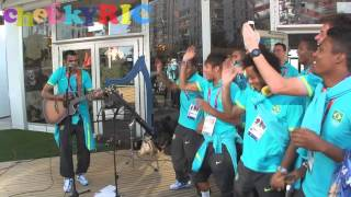 Download Brazil 2012 Olympic Football Team Singing Video