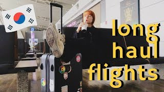 Download How to Survive Long Haul Flights | Flying Seoul to LAX on Singapore Airlines Video