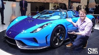 Download This BLUETIFUL Koenigsegg Regera has the ULTIMATE Party Trick! Video