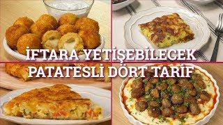 Download İftara Yetişebilecek Patatesli Dört Tarif | Yemek Video