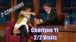Download Charlyne Yi - Who Is Weirder, She Or Craig? - 2/2 Visits In Chron. Order Video