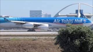Download HEAVY LAX HEAVIES Los Angeles LAX Plane spotting - 40 Mins of Wide Body Aircraft Video