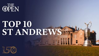 Download Top 10 Moments from The Open Championship at St Andrews Video