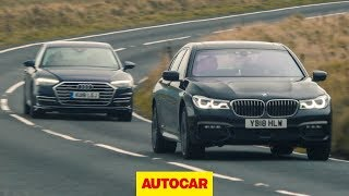 Download Audi A8 vs BMW 7 Series | What's the best luxury saloon to drive? | Autocar Video