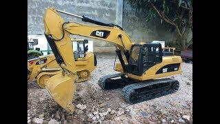 Download สุดยอดรถแมคโครบังคับระบบไฮดรอลิค ราคา 38,000 บาท , RC CAT 320D Excavator Video