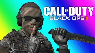 Download Black Ops 2 Private Match Funny Moments - Terroriser Making Wildcat Rage :D Video