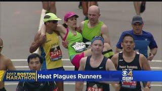 Download Heat Plagues Boston Marathon Runners Video