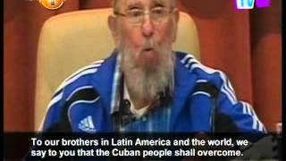 Download Former Cuban leader Fidel Castro gives possible farewell speech Video