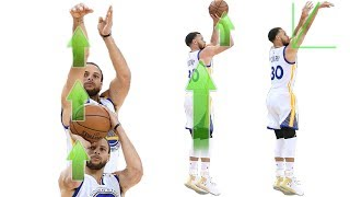 Download Stephen Curry Shooting Form Straight Force Theory Secret Analytics Video