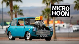 Download Insane 600hp Supercharged V8 Powered Mini Cooper Burnout Monster Video