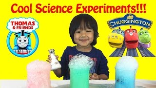 Download Thomas & Friends Trains Science Experiment for Kids , elephant toothpaste, baking soda and vinegar Video