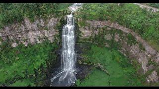Download Lakes & waterfalls El Sisga & El Salto de Tequendama From the Air Video