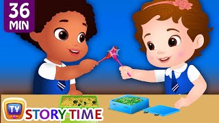 Download The Lunch Thief | Plus Many More Bedtime Stories For Kids in English | ChuChu TV Storytime Video