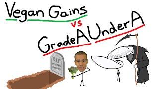 Download Vegan Gains vs GradeAUnderA Video