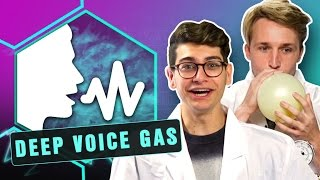 Download CRAZY DEEP VOICE GAS EXPERIMENT! (Smosh Lab) Video