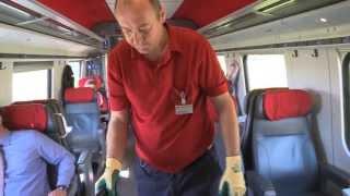 Download SBB lanciert die mobile Reinigung im Zug. Video