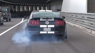Download Ford Shelby Mustang GT500 - Brutal Accelerations! Video