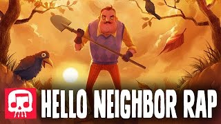 """Download HELLO NEIGHBOR RAP by JT Music - """"Hello and Goodbye"""" Video"""