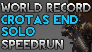 Download Crota Solo Speedrun World Record! (8:04) (Titan) Video