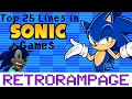 Download Top 25 Lines in Sonic Games! - RetroRampage Video