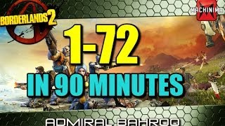 Download How to level from 1-72 in under 2 hours in Borderlands 2 Video