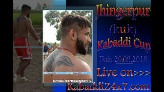 Download Jhingerpur [ KUK] Kabaddi Cup Live Now Video