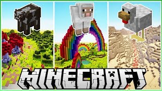 Download I Made 3 Custom Biomes for 3 Mobs! Video