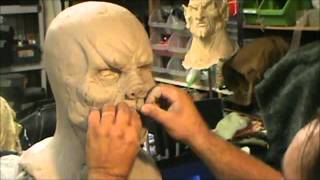 Download Wolfman sculpt Video