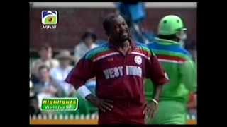 Download Pakistan vs West Indies World Cup 1992 HQ Extended Higlights Video