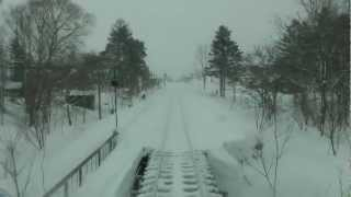 Download 【前面展望】JR北海道 スーパー宗谷 美深→天塩中川 Video