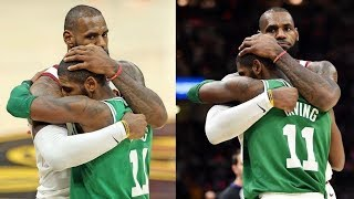 Download LeBron James Hugs Kyrie Irving After He Returns to Cleveland After Leaving and Handshakes Him! Video