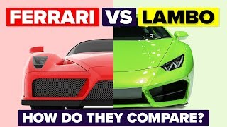 Download Ferrari vs Lamborghini - How Do They Compare and Which Is Better? (Automotive / Car Comparison) Video
