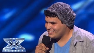 Download Carlos Guevara's Struggles Won't Hold Him Back - THE X FACTOR USA 2013 Video