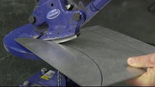 Download Eastwood Metal Cutting Tools - How to Cut Sheet Metal to Thick Plate! Video