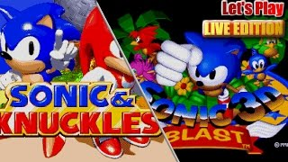 Download Let's Play Sonic 3 & Knuckles and Sonic 3D with GIVEAWAY - (Live Stream 6th May '17 8pm BST) Video