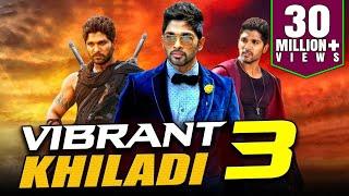 Download Vibrant Khiladi 3 2019 Telugu Hindi Dubbed Full Movie   Allu Arjun, Anushka Shetty, Manoj Manchu Video