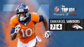 Download #74: Emmanuel Sanders (WR, Broncos) | Top 100 NFL Players of 2016 Video
