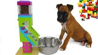 Download Lego Misty: Puppy Dog Food Machine by Misty Brick. Video
