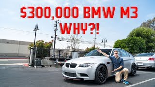 Download $300,000 WORLD'S MOST EXPENSIVE BMW M3!! WHY?? Video