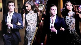 Download CAUGHT Zendaya and Boyfriend Tom Holland Go To Party Together Video