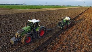 Download Deep ploughing with 900 HP! | *NEW* Fendt 1050 Vario & 939 Vario S4 | Van Werven Video