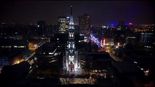 Download Le clocher Saint-Jacques illuminé Video