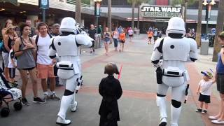 Download Star Wars Escort to Kylo Ren 4-16 First Order Hollywood Studios (must watch ending) Video
